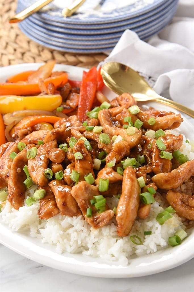 easy Sweet and spicy chicken