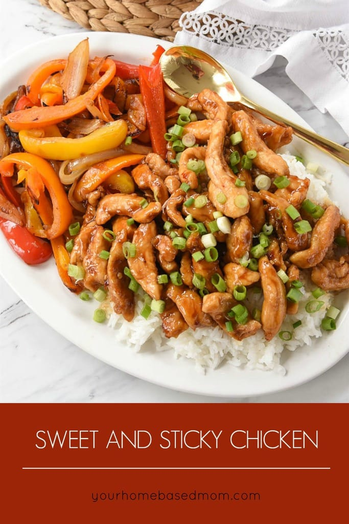 sweet and spicy chicken - quick and easy dinner your family will love!
