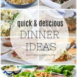 quick and delicious dinner ideas