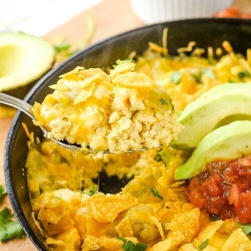 Green Chili Egg Casserole