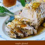 Maple Glazed Instant Pot Pork Roast