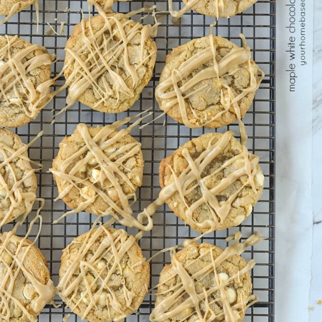 Maple White Chocolate Chip Cookies