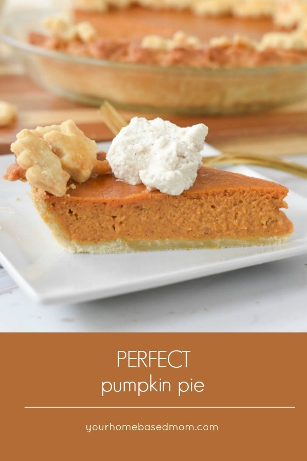 Pumpkin Pie with Cinnamon Whipped Cream