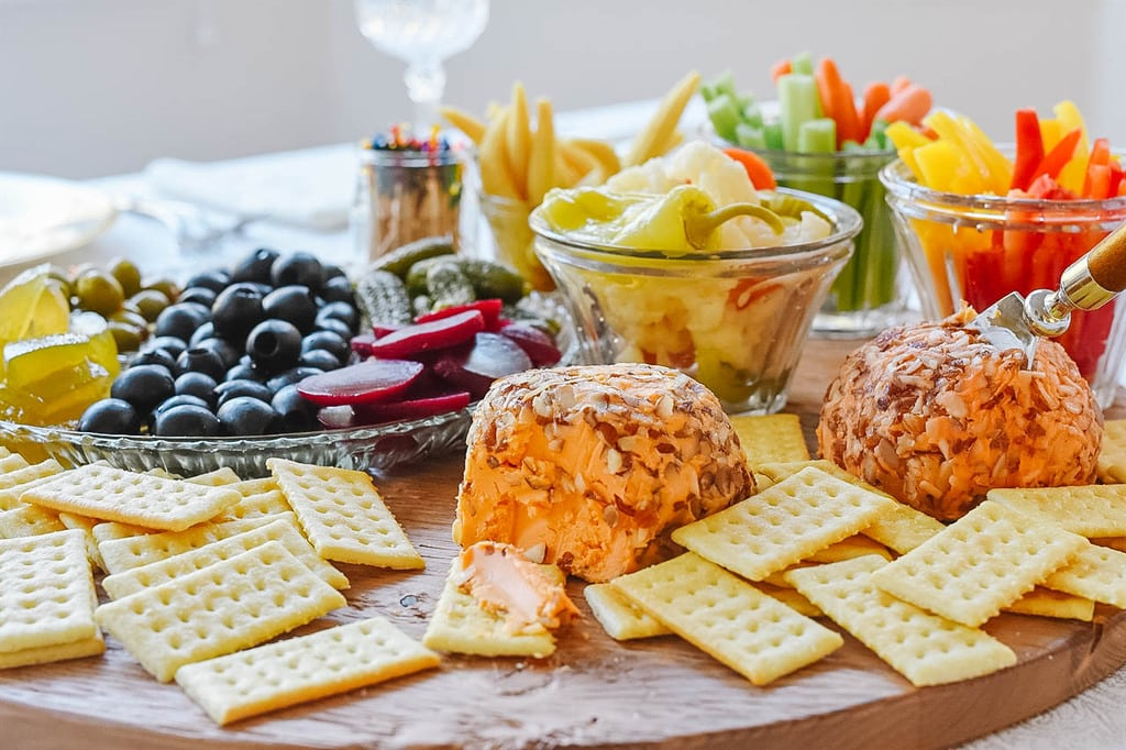 Relish Tray and cheese board