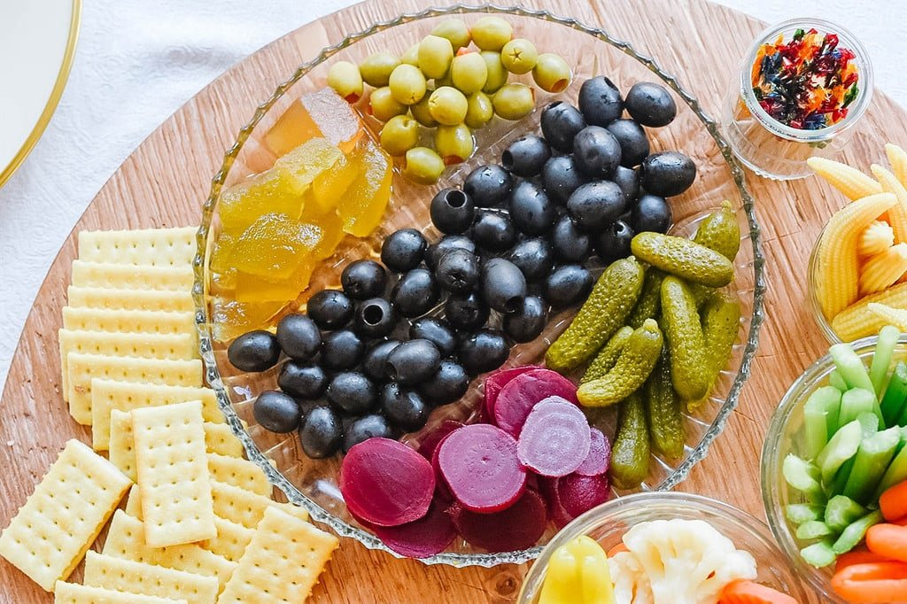 pickle and olive Relish Tray