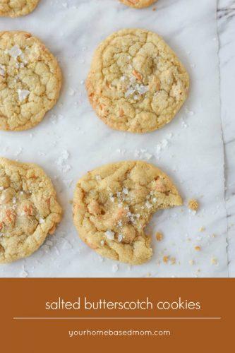 Salted Butterscotch Cookies C