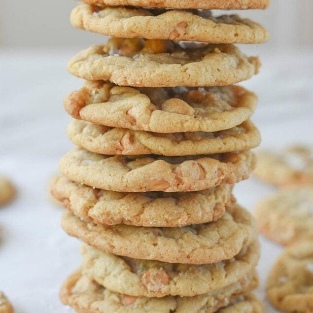 Salted Butterscotch Cookies