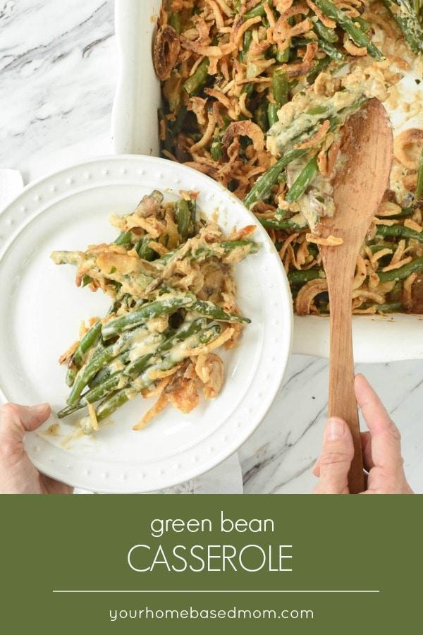 Fresh green bean casserole recipe no canned soup