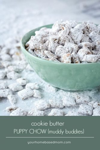 cookie butter puppy chow or muddy buddies