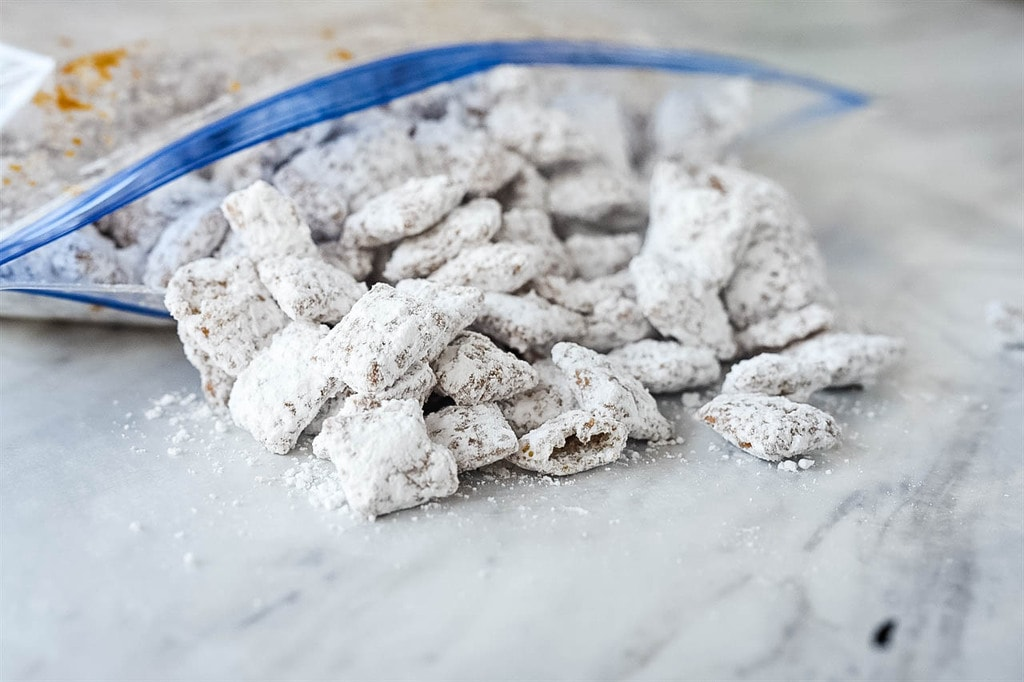 bag of Cookie Butter Puppy Chow