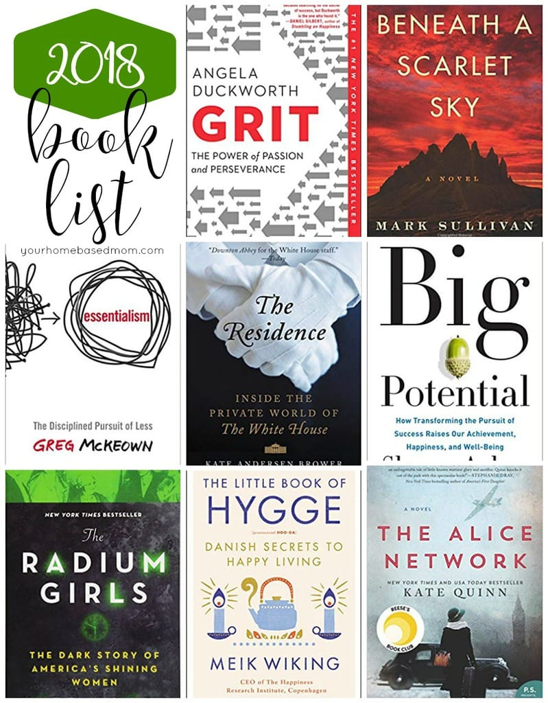 Sharing my 2018 Book List and all the great books I read this past year. I'd love to hear what you read this year!  Check out my recommended reads.