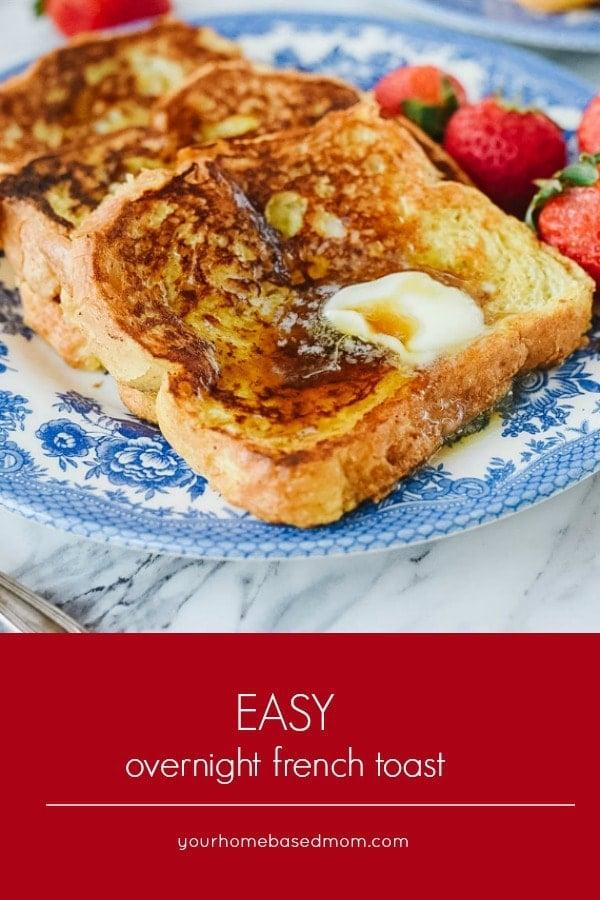 easy overnight french toast recipe