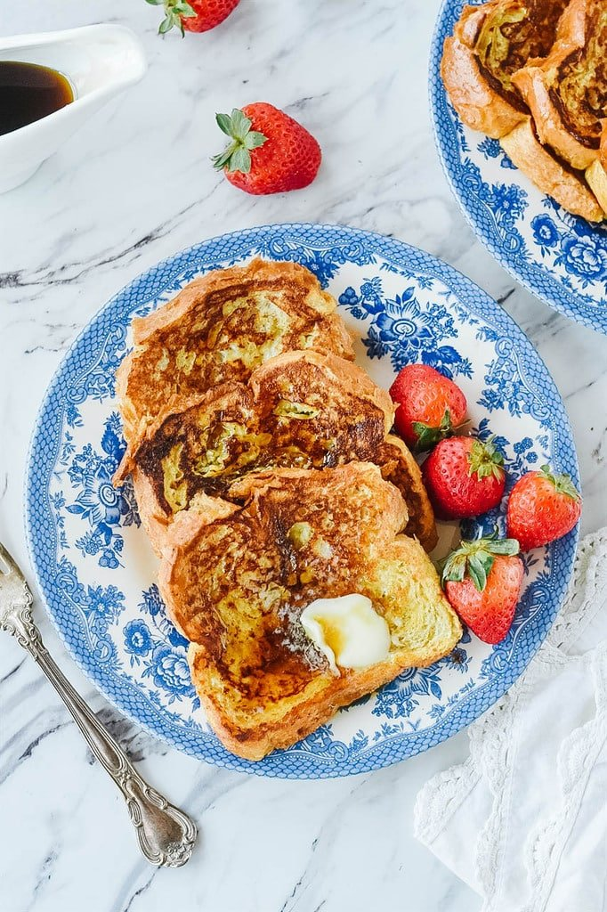 plate of perfect french toast