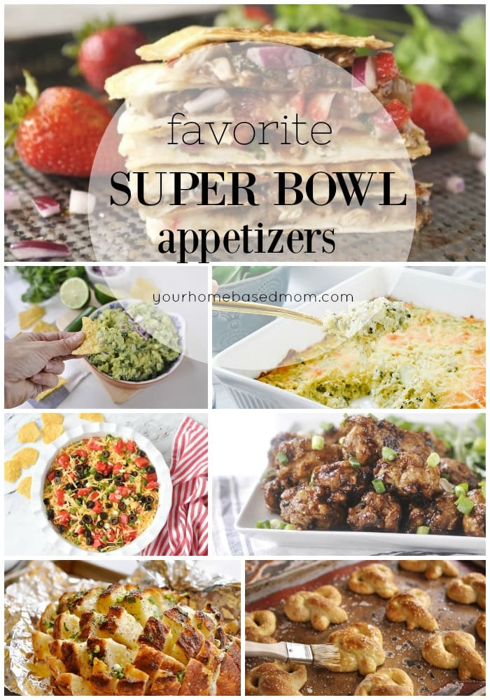 Super Bowl Appetizers roundup
