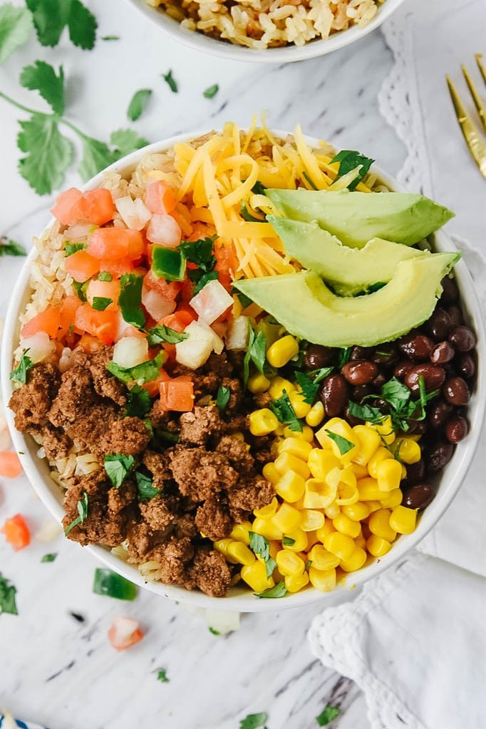 healthy Taco Bowl
