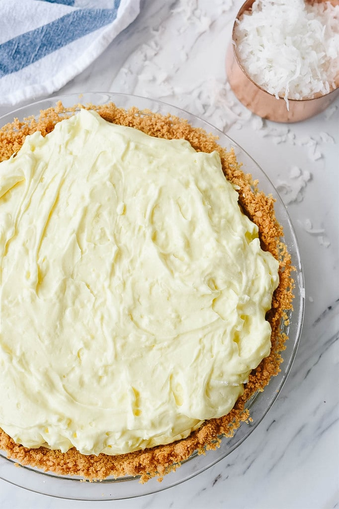 how to make coconut cream pie