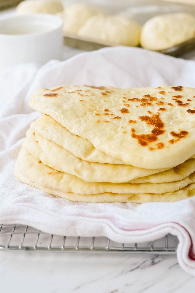 Homemade Naan Bread Recipe Your Homebased Mom