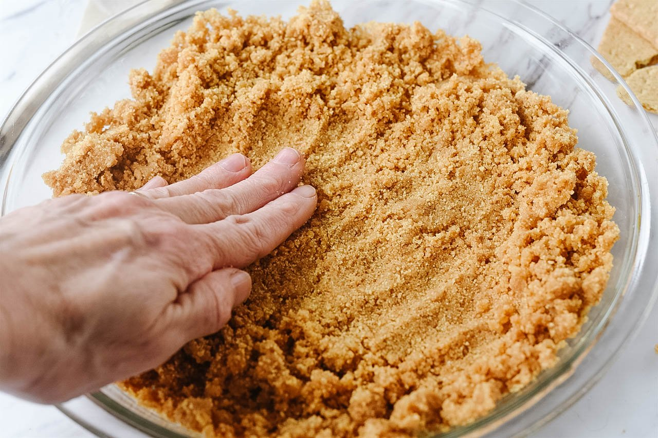 Forming a Graham Cracker Crust