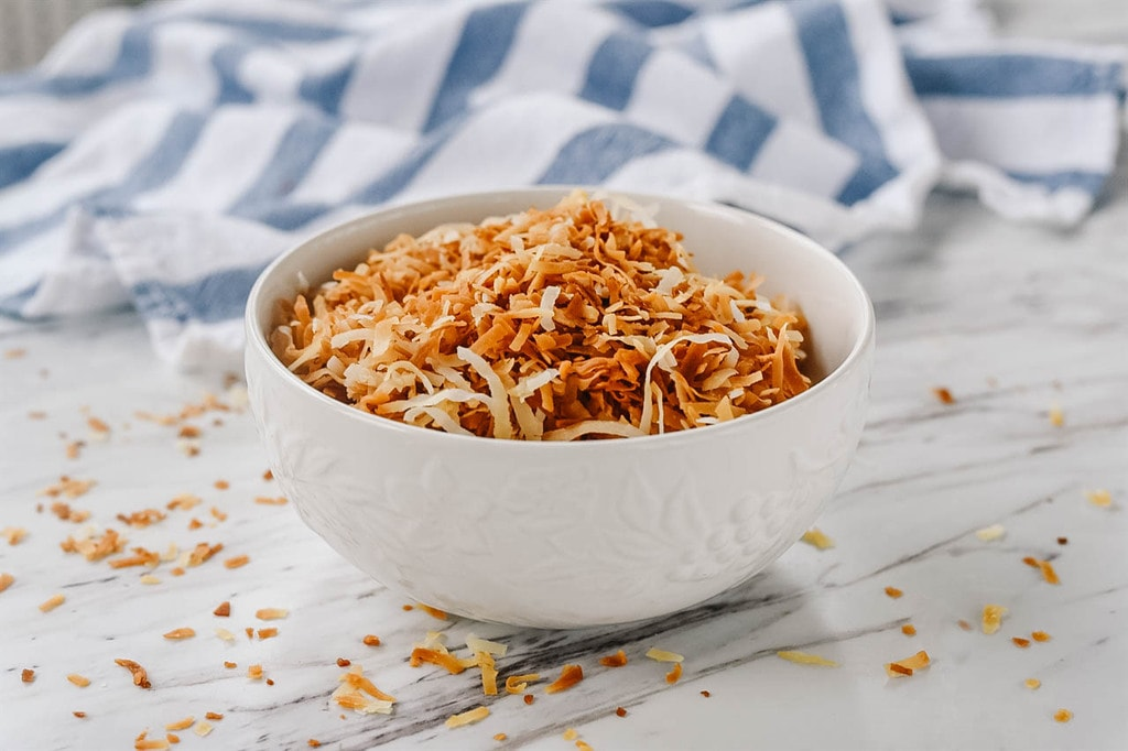 how to store toasted coconut