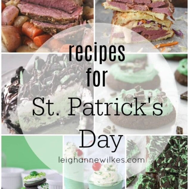 photos of st patricks' recipes