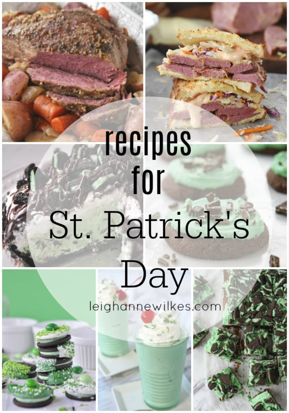 photos of st patricks' recipes