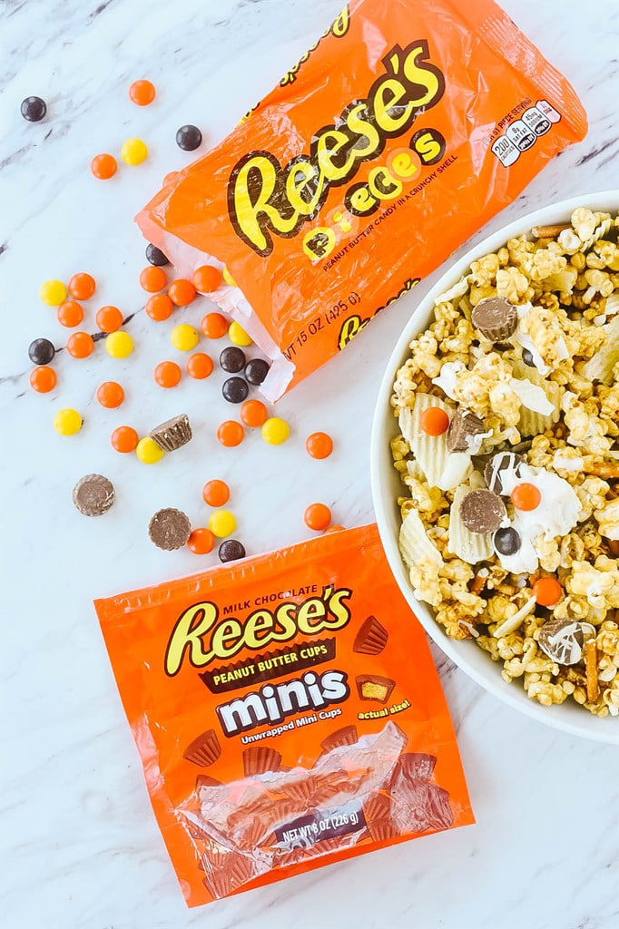 peanut butter snack mix ingredients