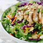 Applebees Oriental Chicken Salad in a bowl