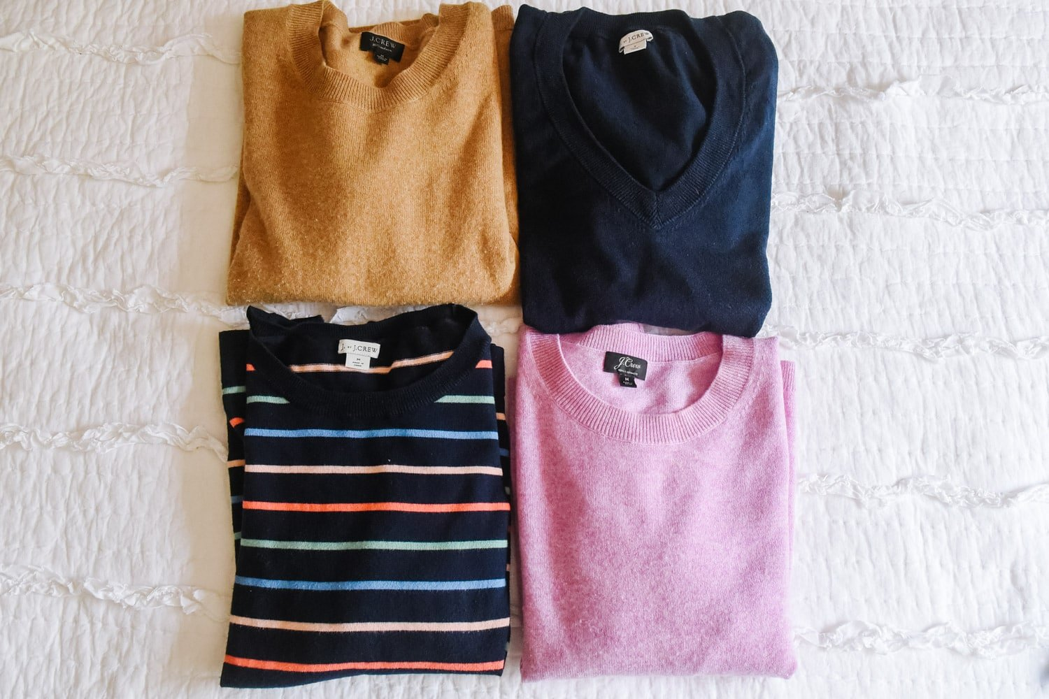 four sweaters