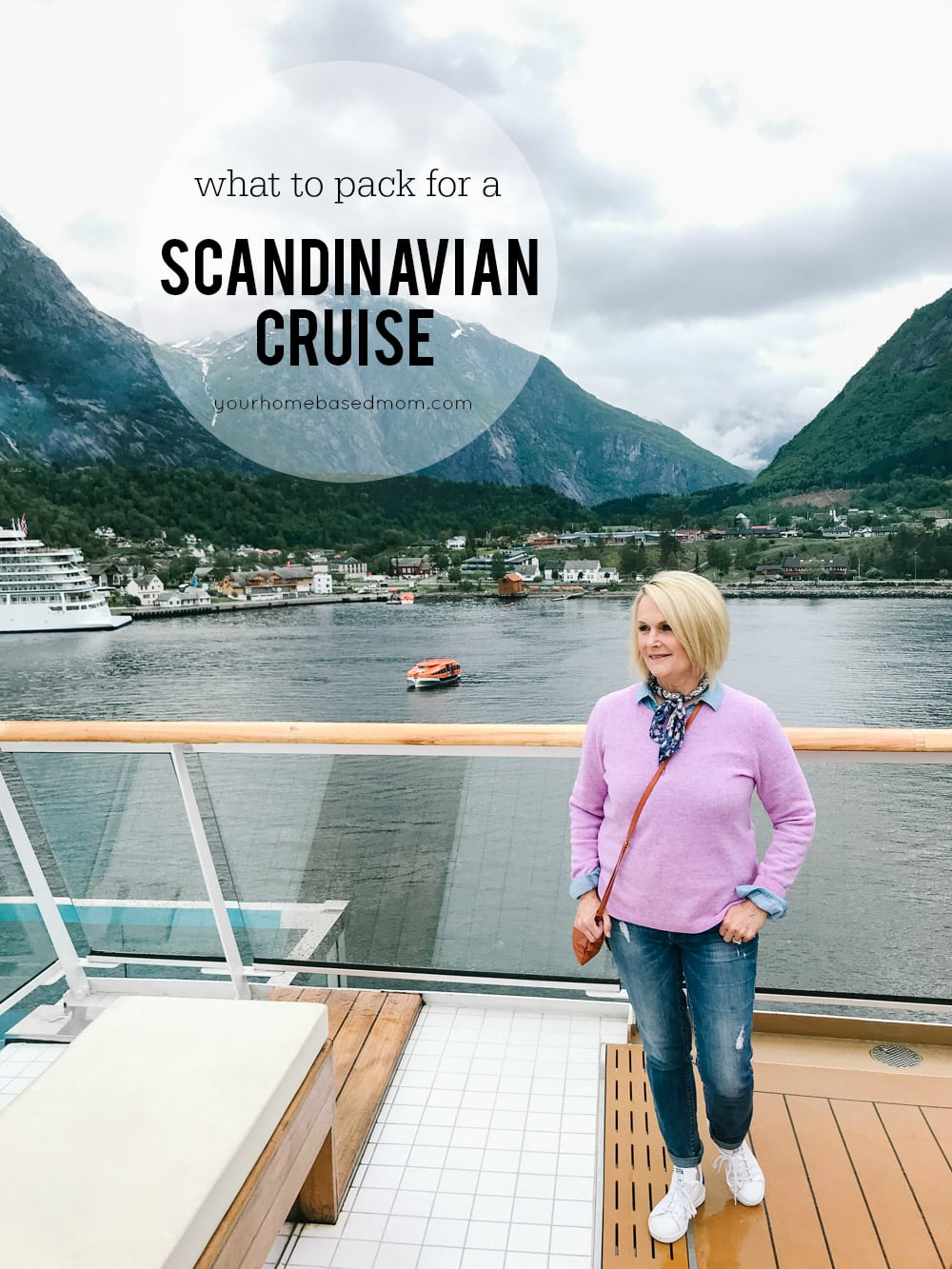 what to pack for a Scandinavian cruise