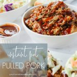 bowls of instant pot pulled pork