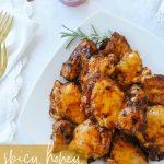 Honey Chicken on a plate