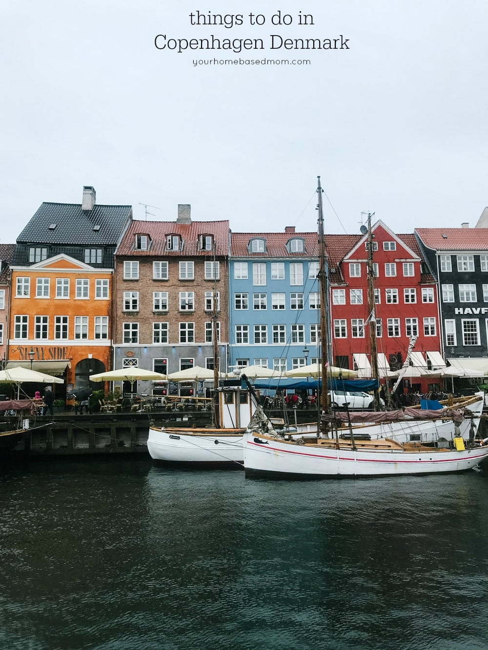 Nyhaven port in Copenhagen