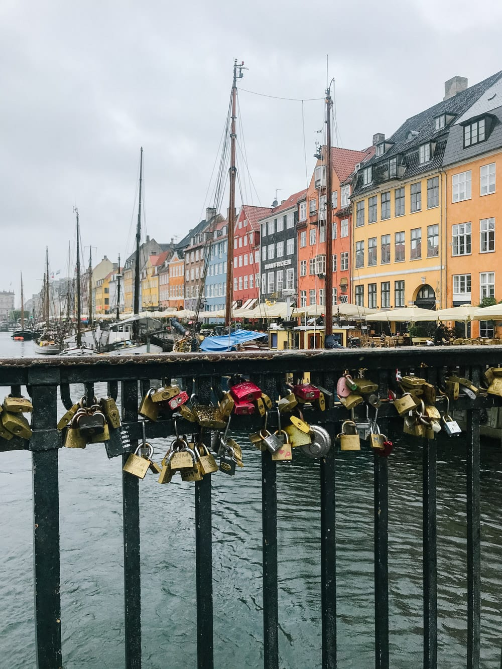 Lock bridge in Copenhagen