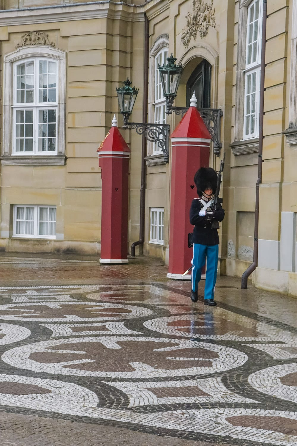 Amalienborg Palace guard