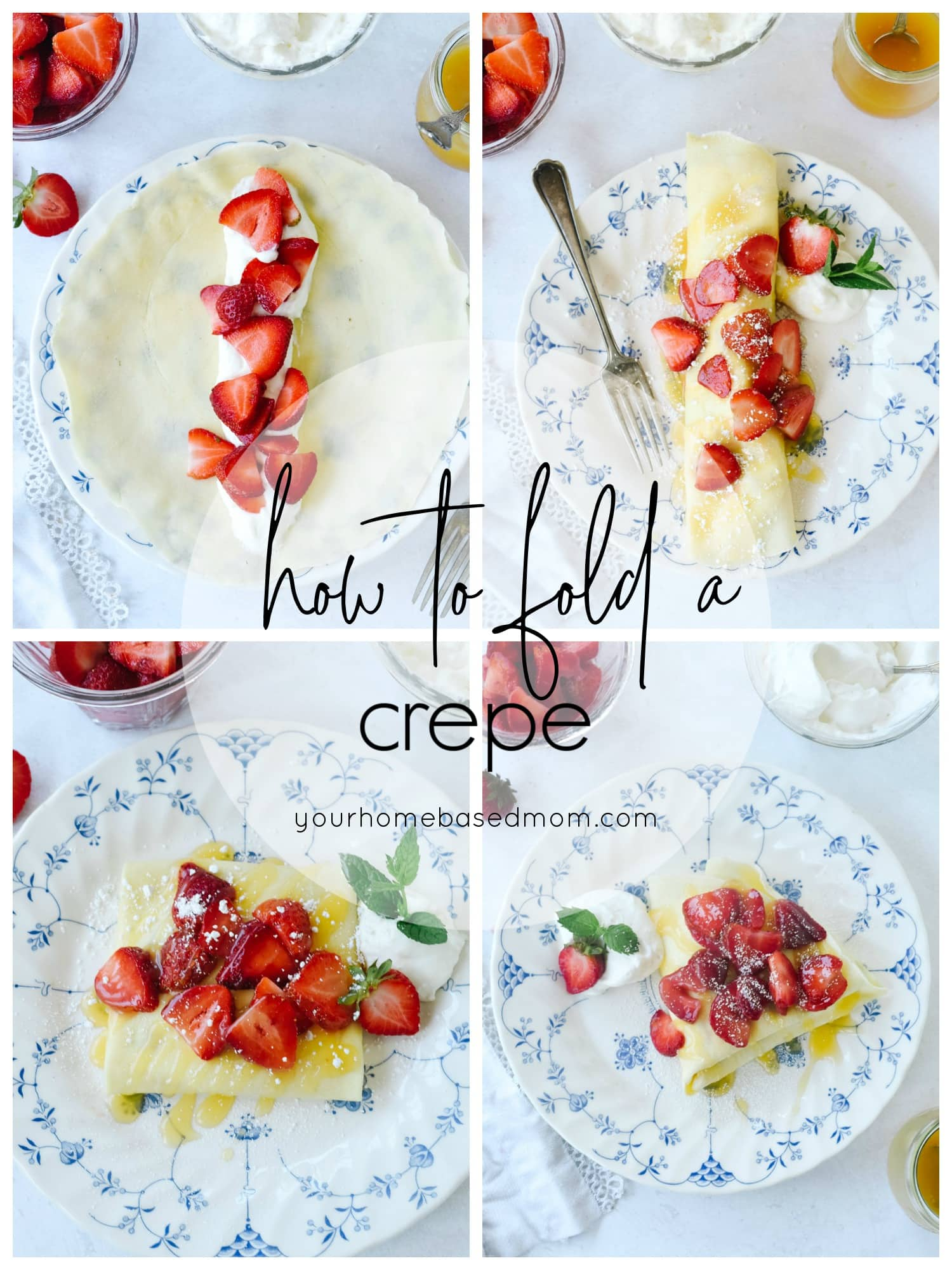 pictures of french crepes