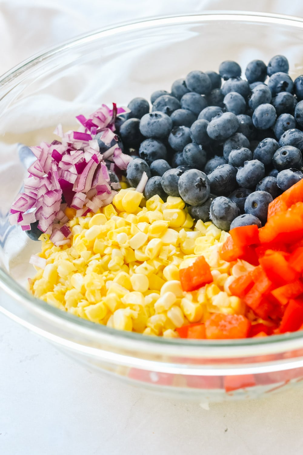 Blueberry Corn Salad Ingredients