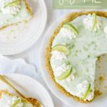 pieces of frozen key lime pie
