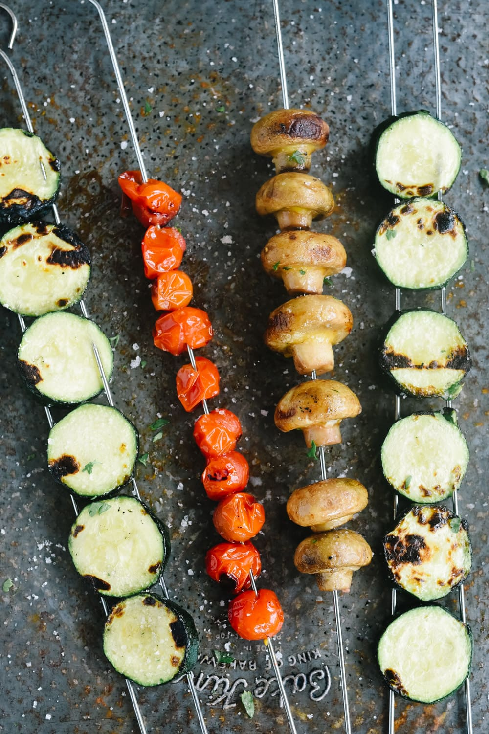vegetable shish kabob