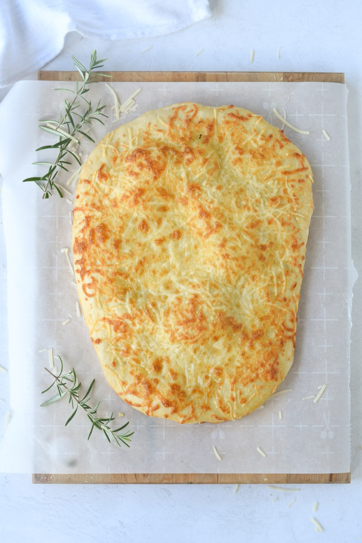 baked flatbread