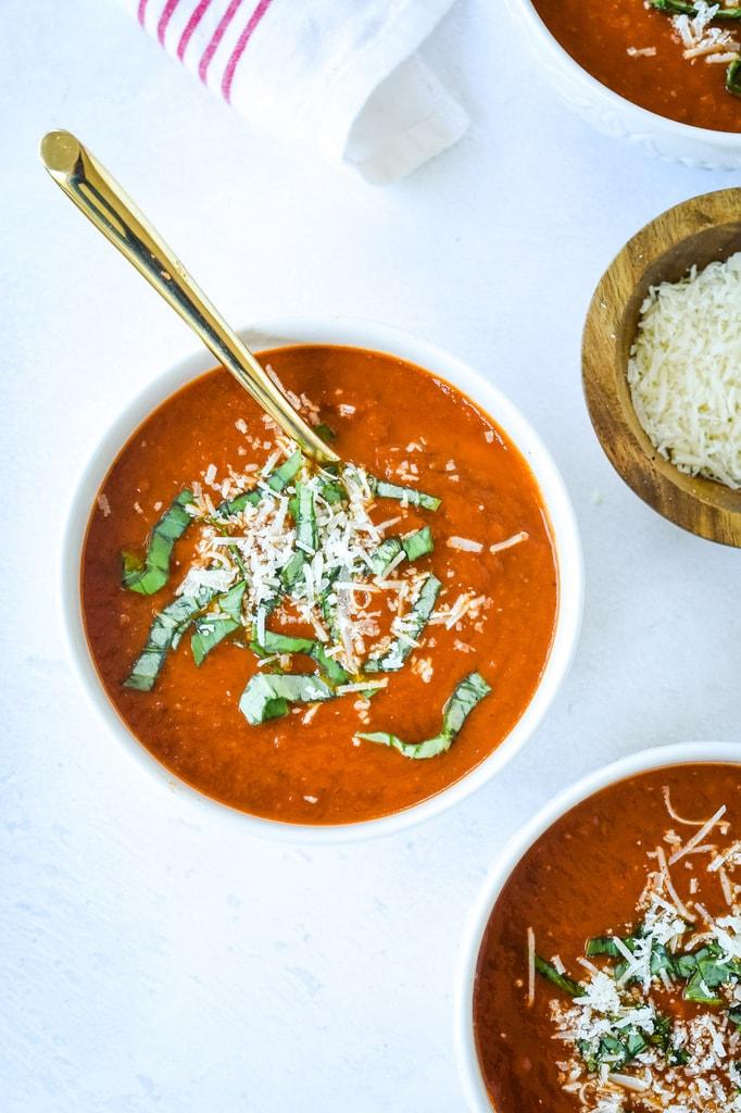 pressure cooker tomato soup