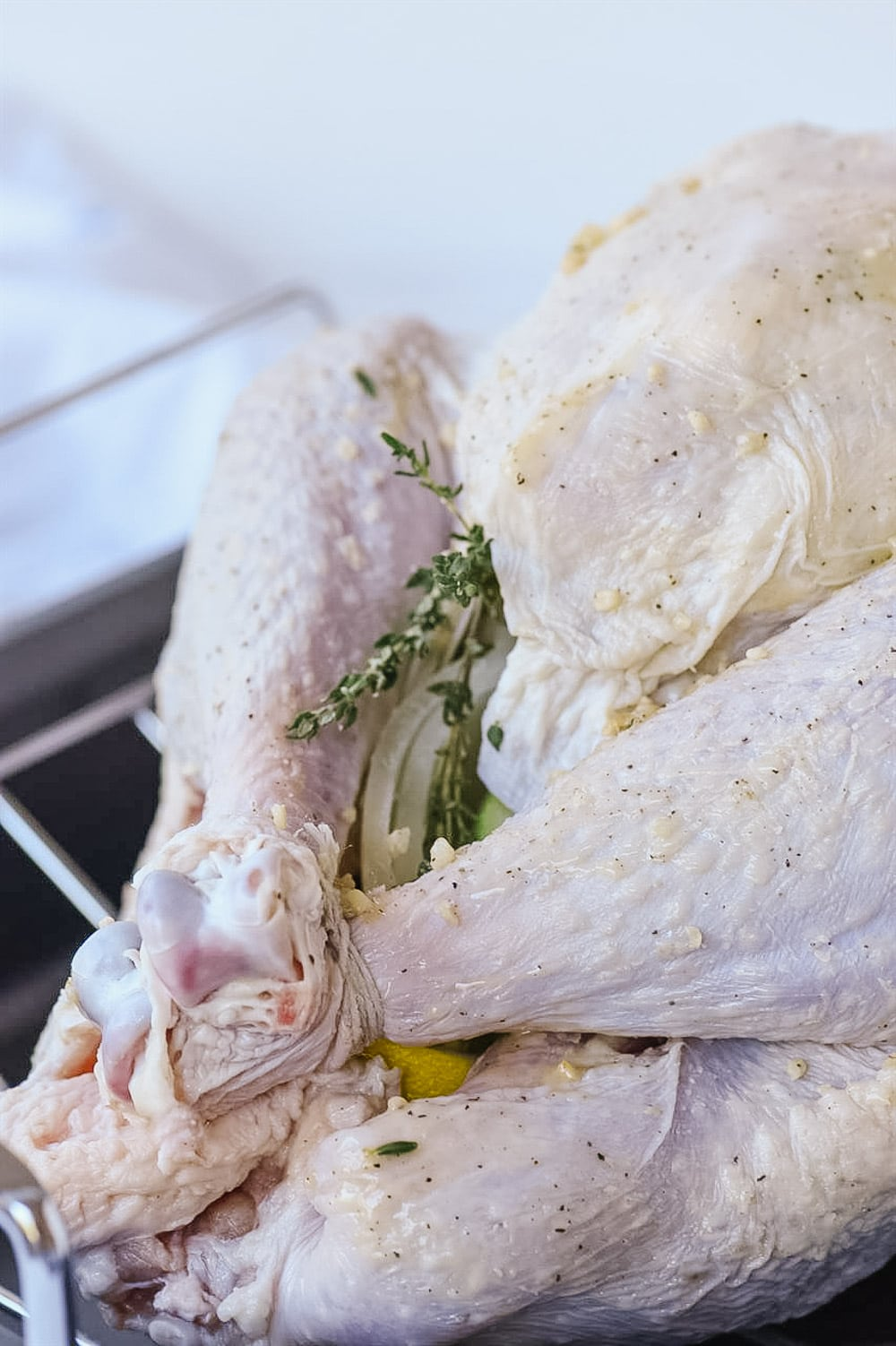 turkey ready for the oven