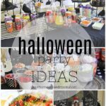 collage of party ideas