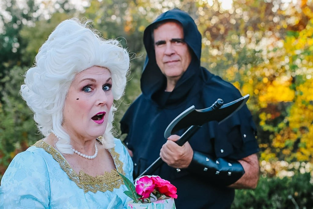 Marie Antoinette and executioner costume
