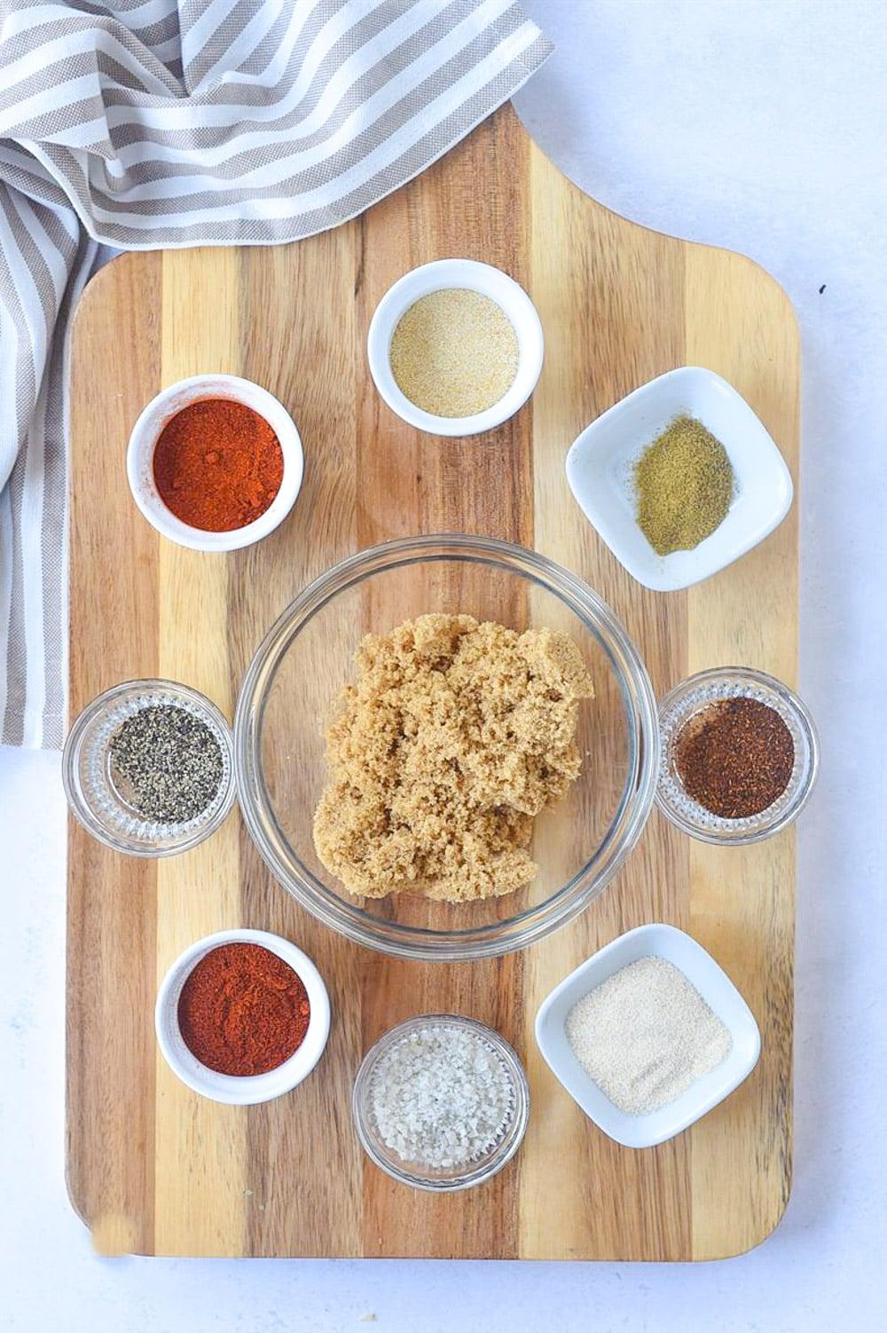 spice rub ingredients