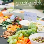 hummus grazing table