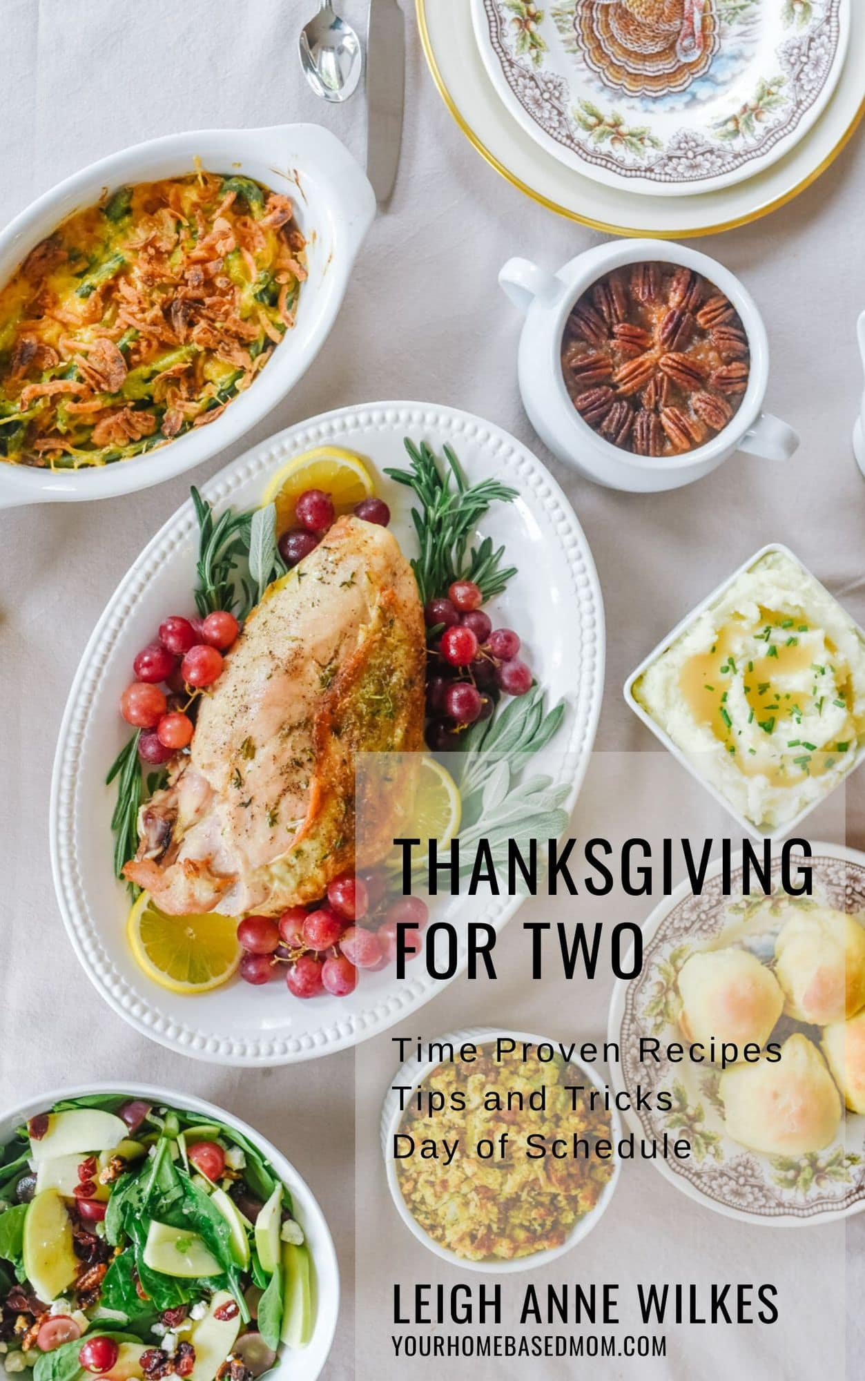 Thanksgiving for Two Cookbook cover