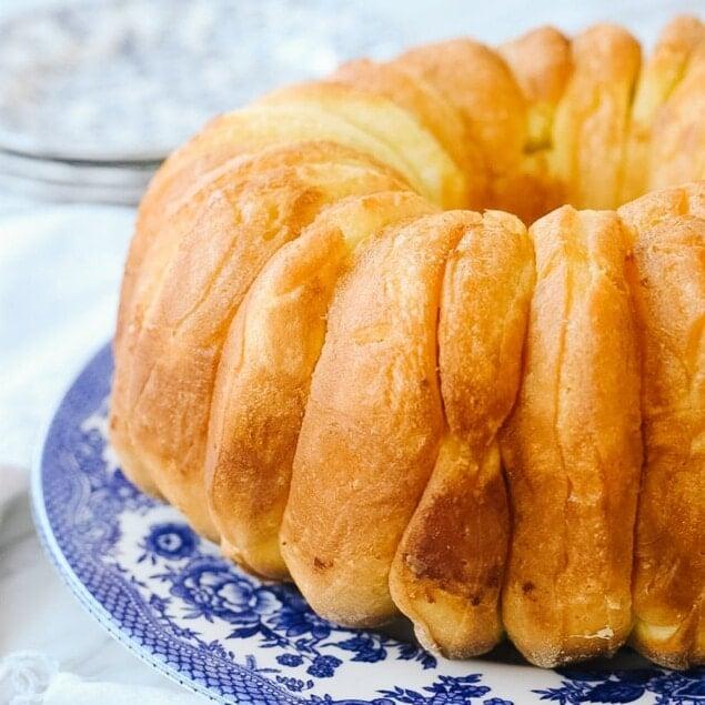monkey bread on a plate