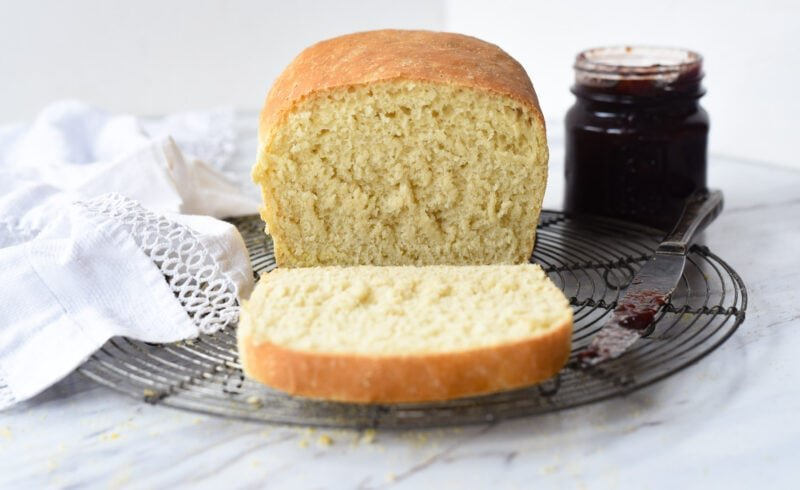 sliced english muffin bread