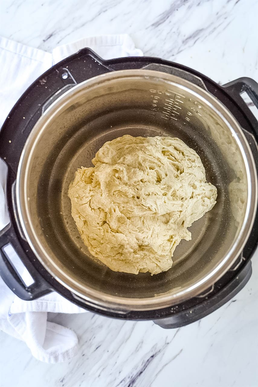 dough in Instant Pot
