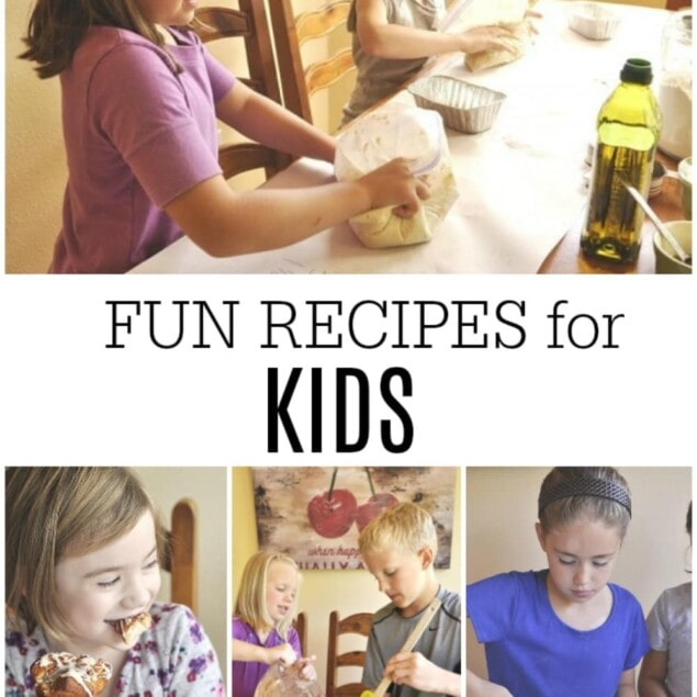 photos of kids cooking
